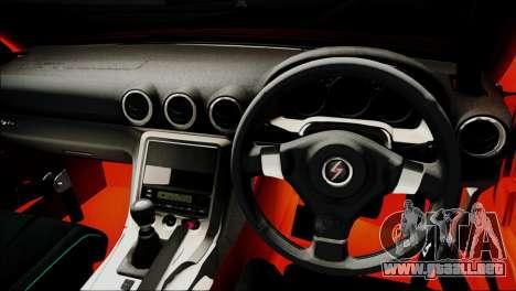Nissan Silvia S15 Varietta para GTA San Andreas vista hacia atrás