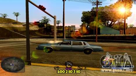 C-HUD Barcelona para GTA San Andreas segunda pantalla