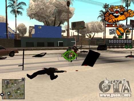C-HUD King para GTA San Andreas sucesivamente de pantalla