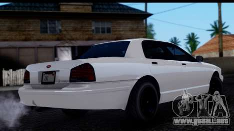 Civillian Vapid Stanier II from GTA 4 IVF para GTA San Andreas left