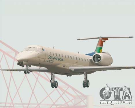Embraer ERJ-135 South African Airlink para GTA San Andreas