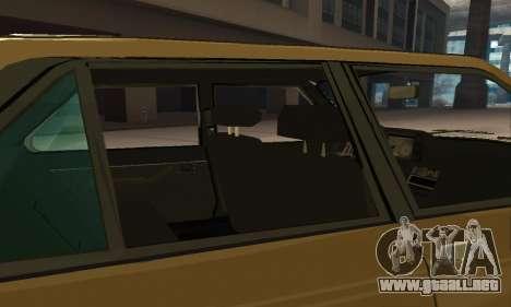 Renault 18 para las ruedas de GTA San Andreas