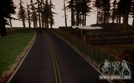 Fourth Road Mod para GTA San Andreas séptima pantalla