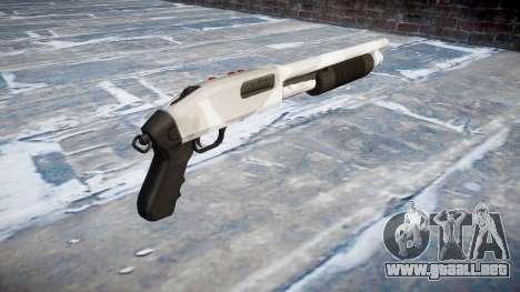 Mossberg 500 yukon para GTA 4 segundos de pantalla