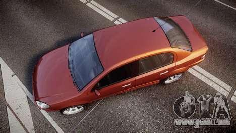 Declasse Premier Sport R para GTA 4 visión correcta