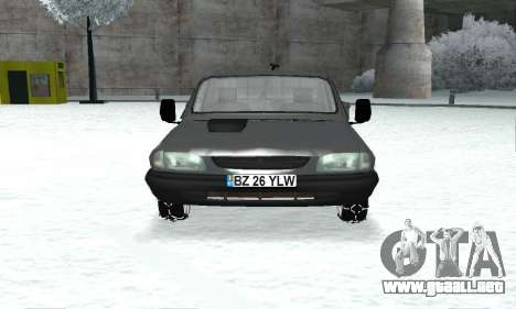 Dacia 1305 Papuc Pick-Up Drop Side 1.9D para GTA San Andreas vista hacia atrás