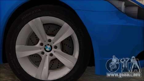 BMW 520i E60 para GTA San Andreas vista posterior izquierda