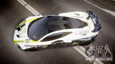 McLaren P1 2014 [EPM] Ken Block para GTA 4 visión correcta
