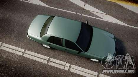 Ford Crown Victoria Police Interceptor [ELS] para GTA 4 visión correcta