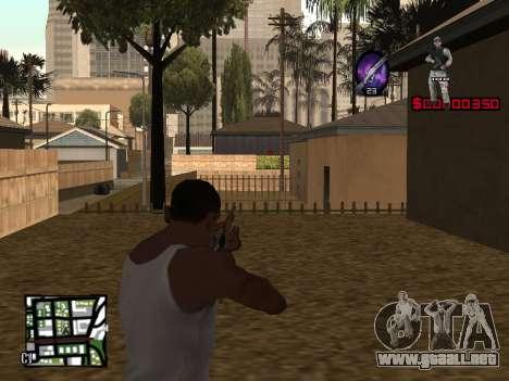 C-HUD by Alesha para GTA San Andreas