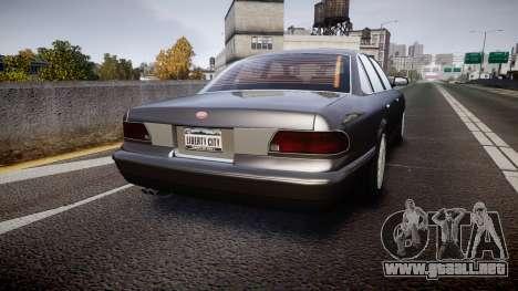 GTA V Vapid Stanier Stock para GTA 4