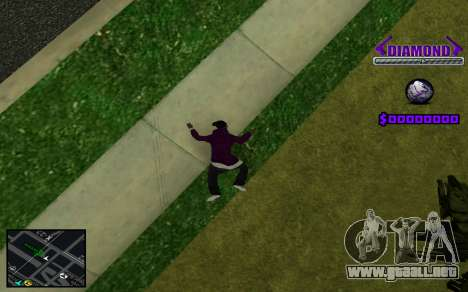 C-HUD Diamond Gangster para GTA San Andreas séptima pantalla