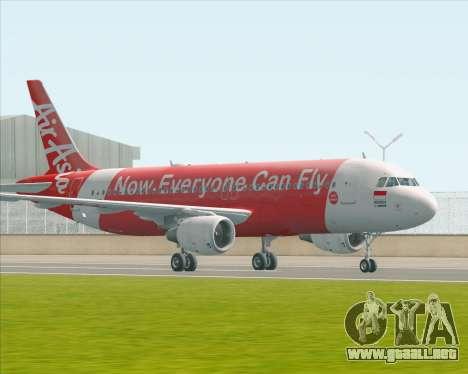 Airbus A320-200 Indonesia AirAsia para GTA San Andreas left