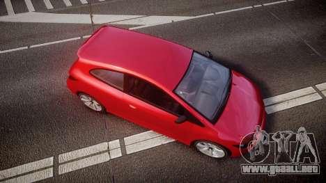 GTA V Dinka Blista para GTA 4 visión correcta