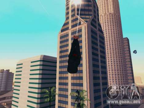 Spiderman Swinging v2.1 para GTA San Andreas