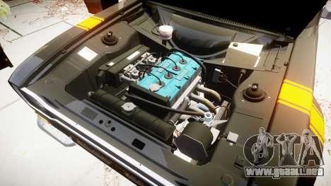 Ford Escort RS1600 PJ13 para GTA 4 vista hacia atrás