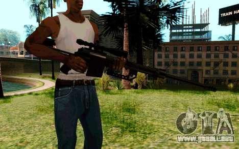 Cheytac M200 Black para GTA San Andreas segunda pantalla