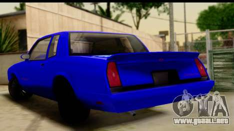 Chevy Monte Carlo para GTA San Andreas left