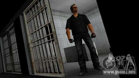 Tommy In Black para GTA Vice City