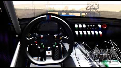 BMW Z4 GT3 para la visión correcta GTA San Andreas