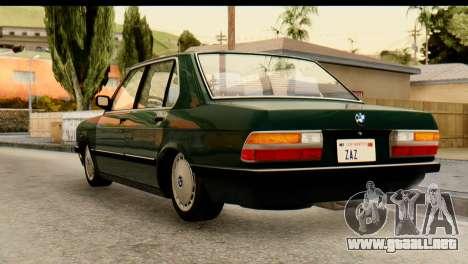 BMW M5 E28 Edit para GTA San Andreas left