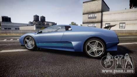 Pegassi Infernus GTA V Style para GTA 4 left