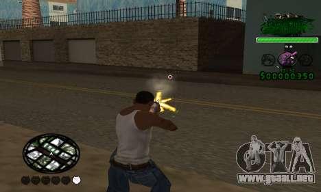 C-HUD Grove St. Family para GTA San Andreas segunda pantalla