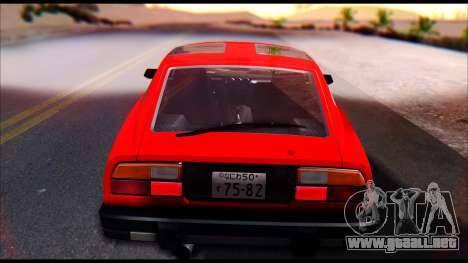 Nissan S130 para la visión correcta GTA San Andreas