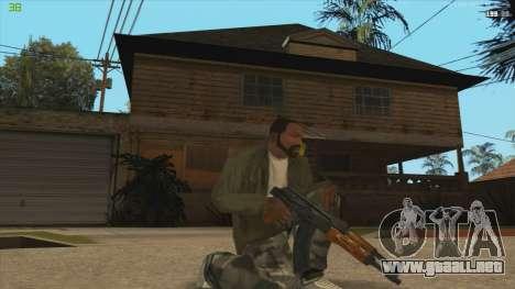 AK47 из Killing Floor para GTA San Andreas segunda pantalla