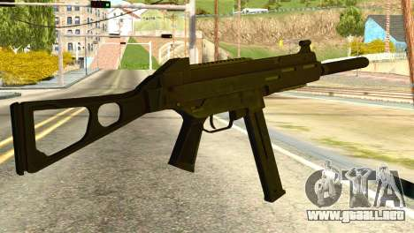 UMP45 from Global Ops: Commando Libya para GTA San Andreas segunda pantalla