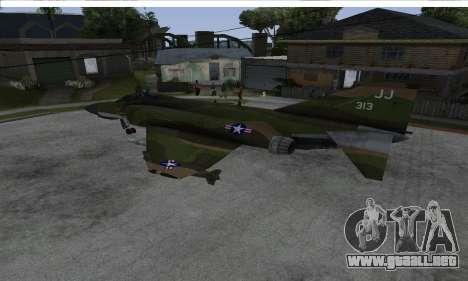 F-4 Vietnam War Camo para GTA San Andreas left
