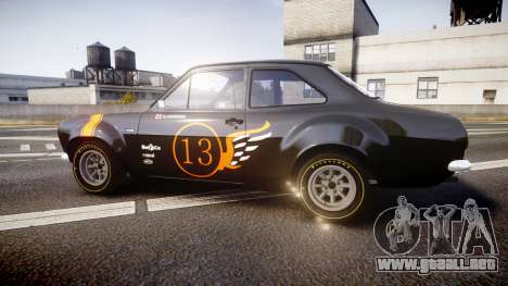 Ford Escort RS1600 PJ13 para GTA 4 left