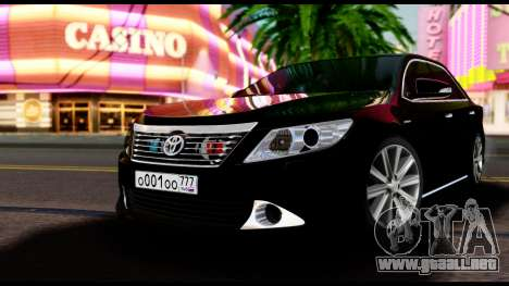 Toyota Camry 2013 para GTA San Andreas