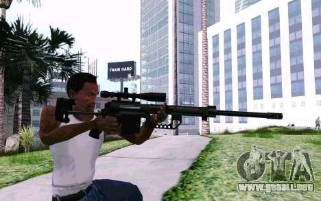 Cheytac M200 Black para GTA San Andreas sucesivamente de pantalla