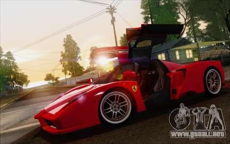 SA_nVidia: Capturas De Pantalla De La Edición para GTA San Andreas octavo de pantalla