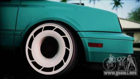 Volkswagen Golf Mk3 Hawaii Style para la visión correcta GTA San Andreas