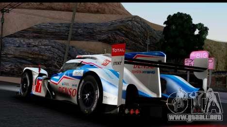 Toyota TS040 Hybrid 2014 para GTA San Andreas left