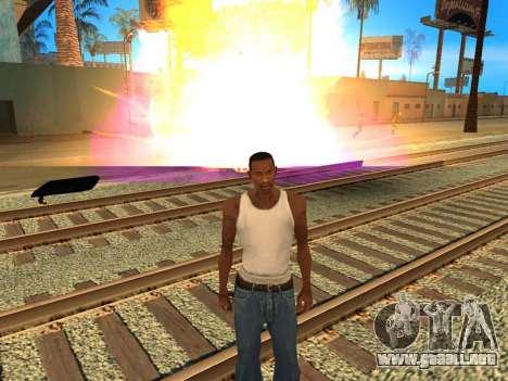 Fagot Funny Effects 1.1 para GTA San Andreas sucesivamente de pantalla