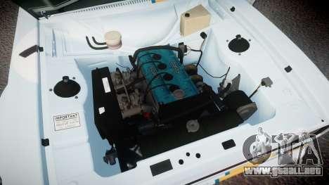 Ford Escort RS1600 PJ76 para GTA 4 vista hacia atrás