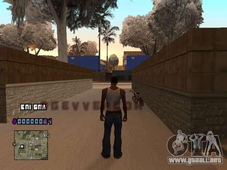 C-HUD Corazón para GTA San Andreas segunda pantalla