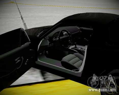 Mazda MX-5 JDM para visión interna GTA San Andreas
