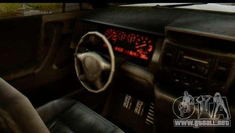 GTA 5 Vapid Sandking XL IVF para visión interna GTA San Andreas