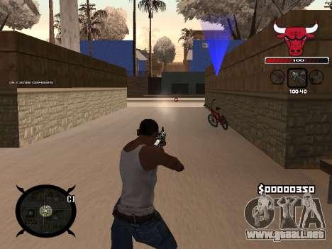 C-HUD Angry para GTA San Andreas segunda pantalla