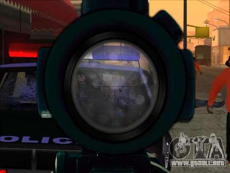 Sniper Skope Mod FIX para GTA San Andreas segunda pantalla
