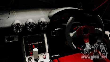 Nissan Silvia S15 EE para la visión correcta GTA San Andreas