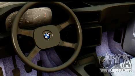 BMW M5 E28 Edit para la visión correcta GTA San Andreas
