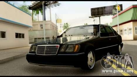 Mercedes-Benz W140 para GTA San Andreas