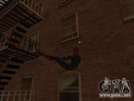 Spiderman Swinging v2.1 para GTA San Andreas tercera pantalla