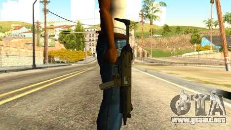 MP5 from GTA 5 para GTA San Andreas tercera pantalla