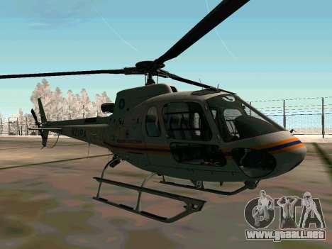 Bo 105 EMERCOM de Rusia para GTA San Andreas vista hacia atrás